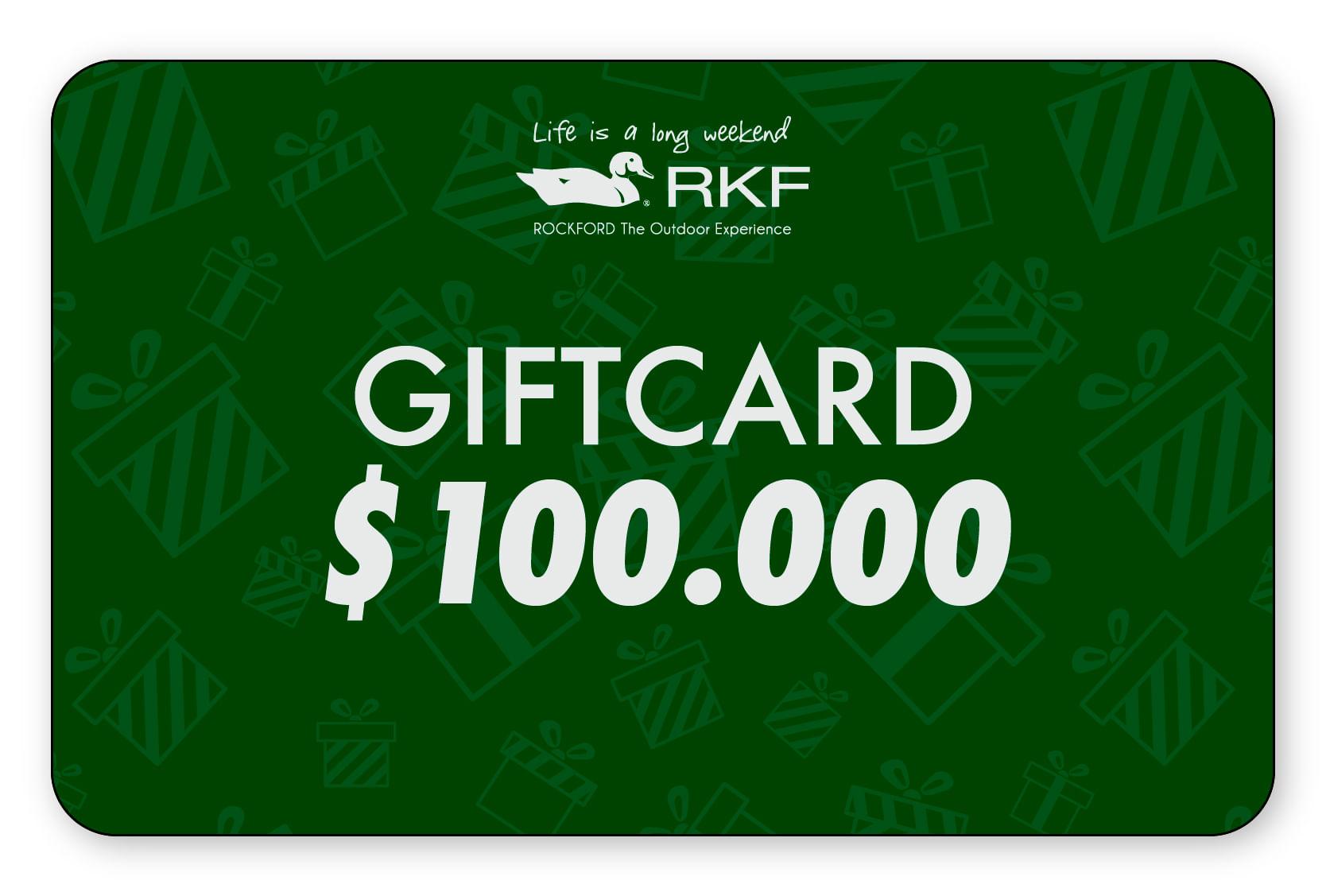 Gift Card $100.000