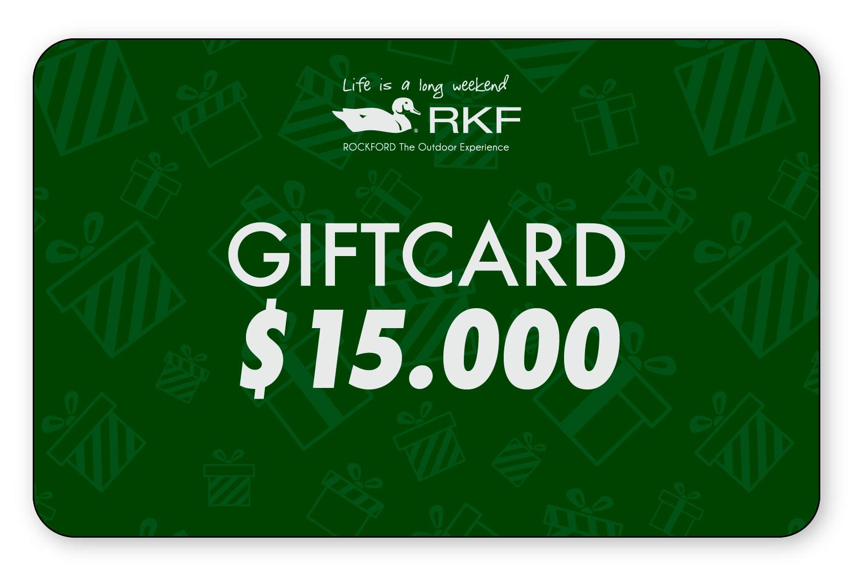 Gift Card $15.000