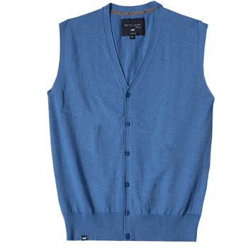 Sweater Vest 100% Algodón Pima Hombre