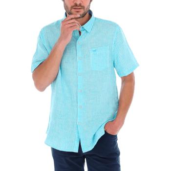 Camisa Hombre 100% Lino Orgánico Linestripeshor Regular