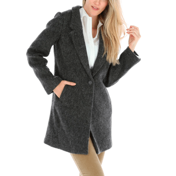 Chaqueta con Lana Mujer Brushed