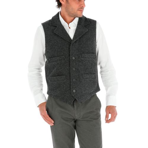 Chaleco Vest con Lana Hombre Wool