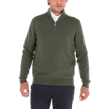 Sweater de Cashmere Hombre Halfzip