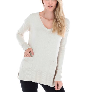 Sweater Mujer Pocket Cashmere
