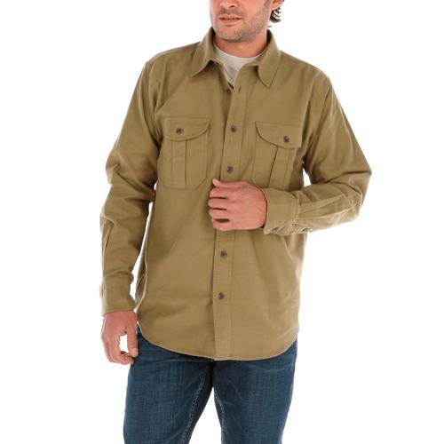 Overshirt Hombre Franel Regular