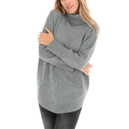 Sweater con Cashmere y Viscosa Mujer Ana