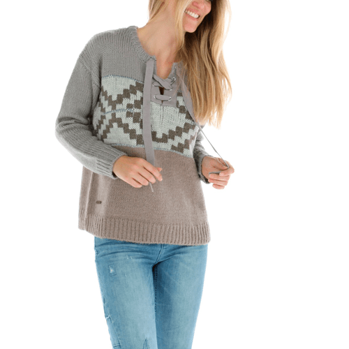 Sweater con Lana Mujer Etnic