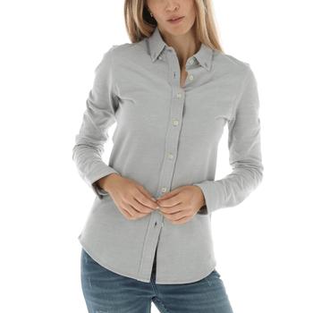 Blusa de Algodón Piqué Mujer Faustina