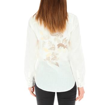 Blusa de Lino Orgánico Mujer Begonia