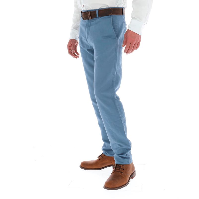 Pantalon Con Lino Hombre Linenchino Rockford Chile Tienda Online Rockford