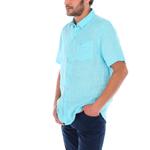 Camisa-Hombre-100--Lino-Organico-Linestripeshor-Regular