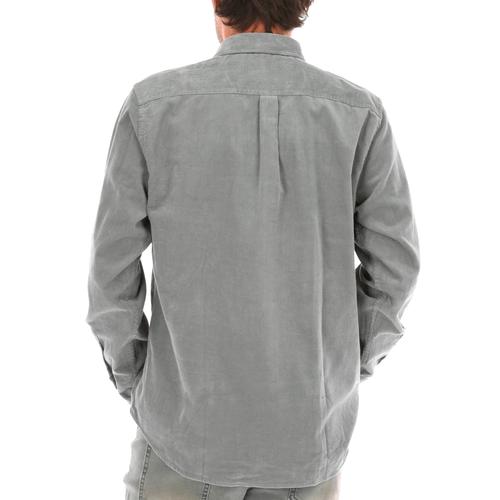 Camisa Cotelé de Algodón Orgánico Hombre Corduroy Regular