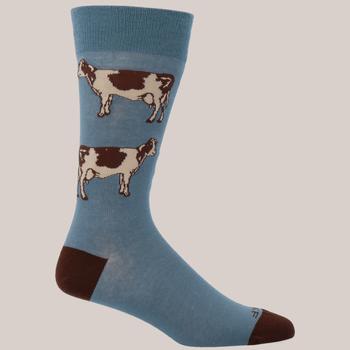 Calcetín Algodón Hombre Cow