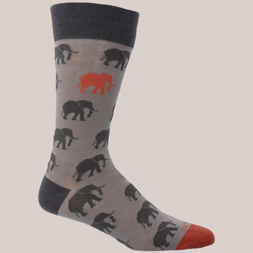 Calcetín Algodón Hombre Elephant