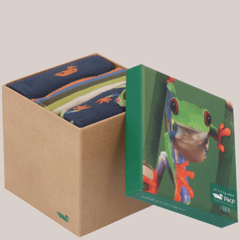 Pack 3 Calcetines Bambú Hombre Frog