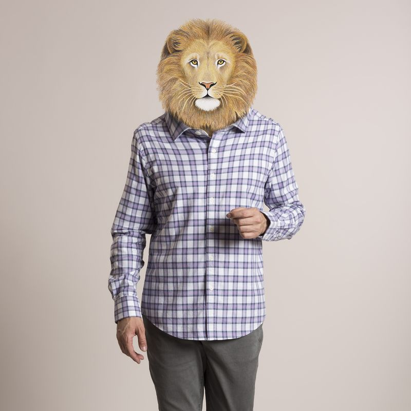 Camisa-Hombre-Flex-Tartan