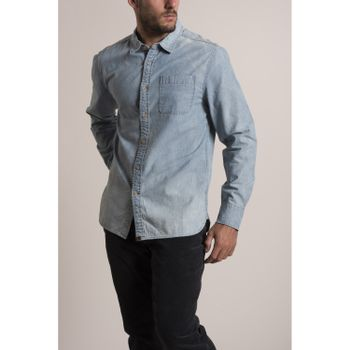 Camisa Hombre Denim Light