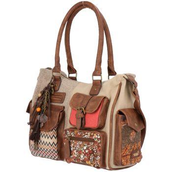 Cartera Mujer Lia Bag Beige