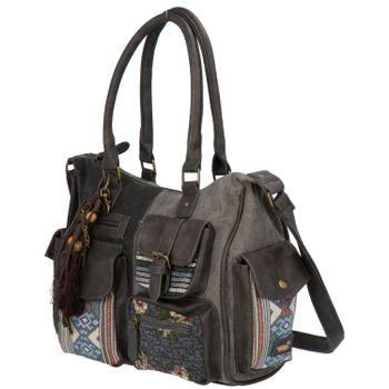 Cartera Mujer Lia Bag Gris