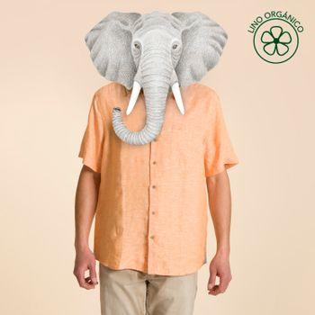 Camisa Manga Corta de Lino Orgánico Hombre Linenshort