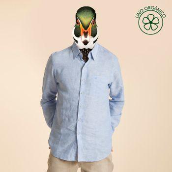 Camisa de Lino Orgánico Hombre Linen