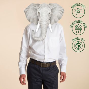 Camisa Hombre Libre De Arrugas WOR Travel