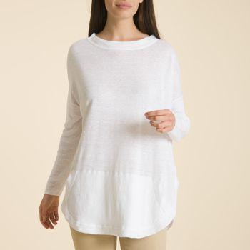 Sweater de Lino Orgánico Mujer Gabrielle