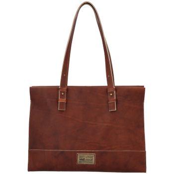 Cartera Cuero Mujer Mini Bag Café