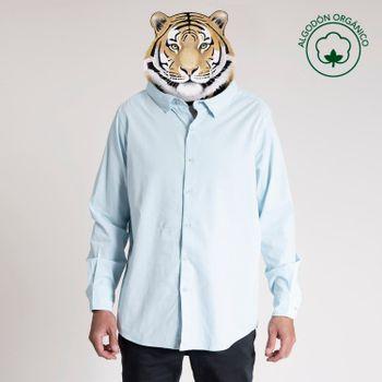 Camisa Algodón Orgánico Hombre Corduroy