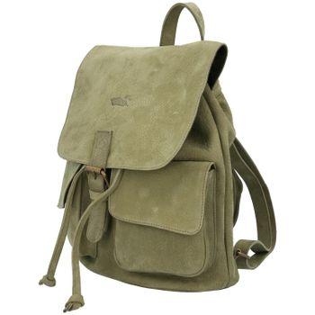 Mochila Cuero Mujer Rkf Backpack