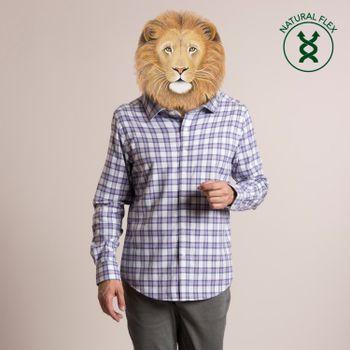 Camisa Hombre Flex Tartan