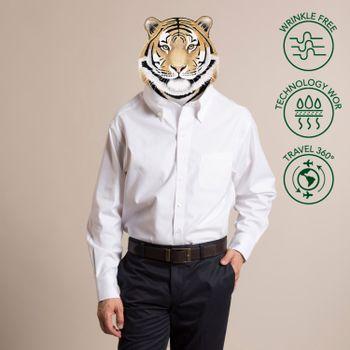 Camisa Hombre WOR PB Travel Libre de Arrugas