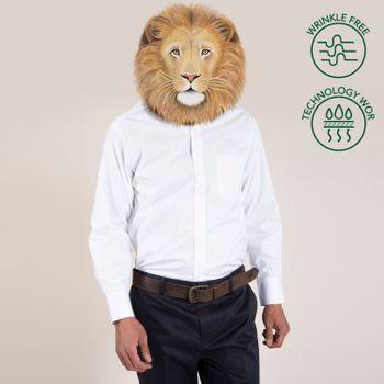 Camisa Hombre Libre De Arrugas WOR