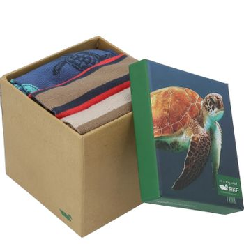 Calcetín Bambú Hombre Pack Turtles