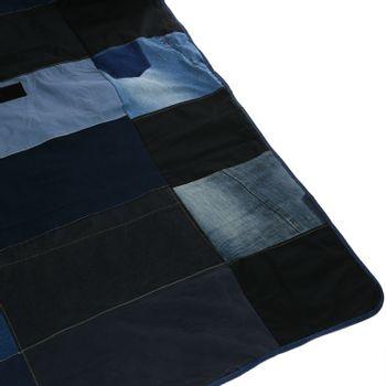 Manta Unisex Denim Jeans Reciclado