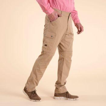 Pantalón Hombre Desmontable Fibras Recicladas