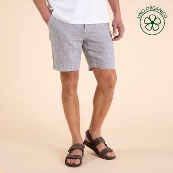 Short Hombre Linen Lino Orgánico