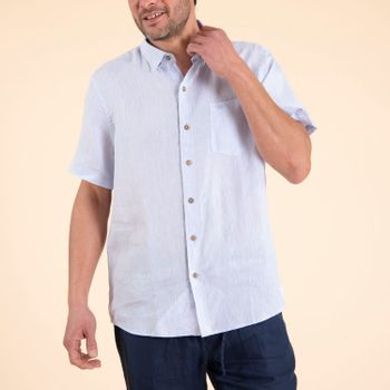 Camisa Hombre Linenshort Lino Orgánico